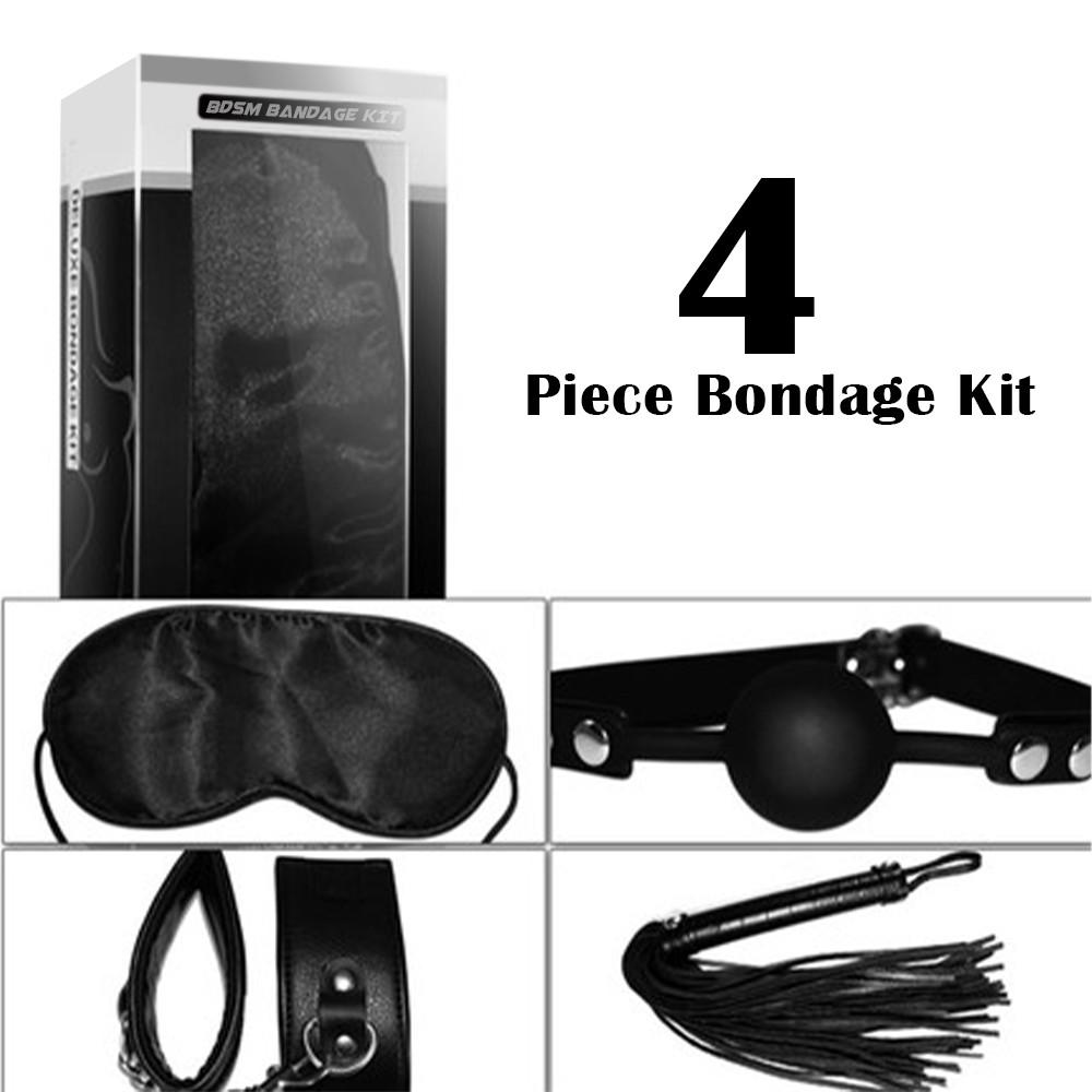 Lovetoy 4 Piece Bondage Kit