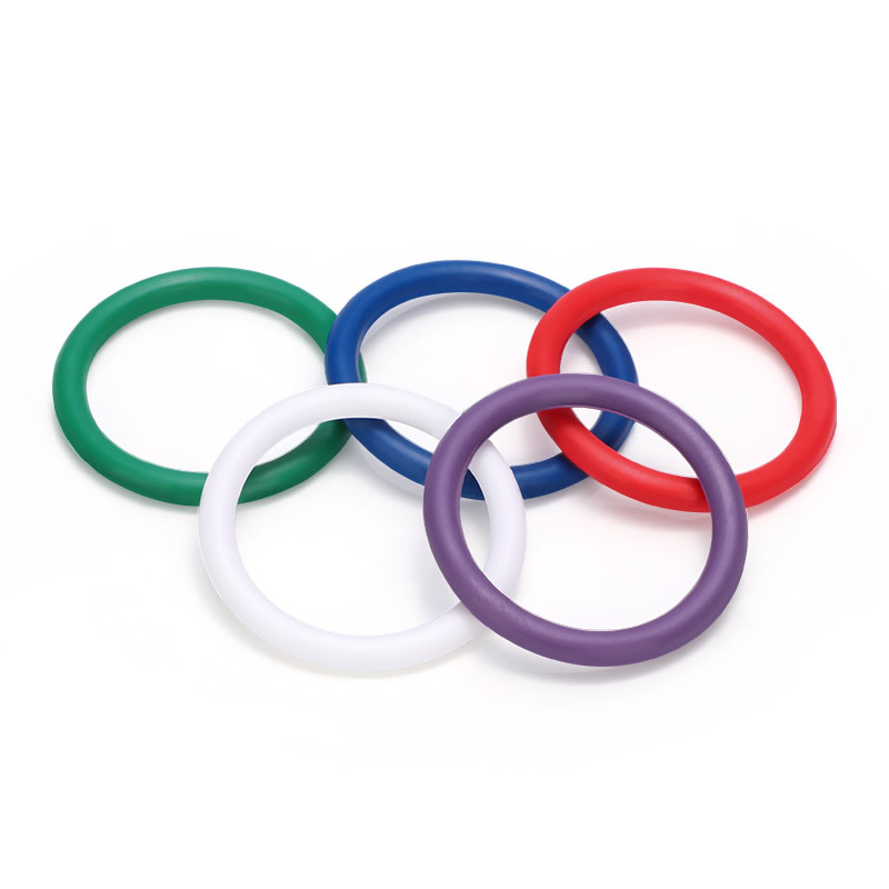 5 Colors Rainbow Classic Cock Rings
