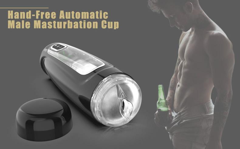 Hand-Free Male Masturbation Cup Automatic Rotate
