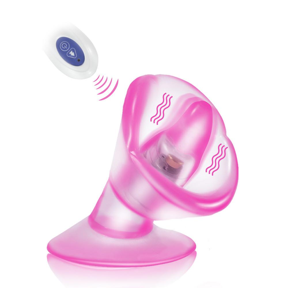 Tonge Licking Vibrator Remote Control 12 Speeds