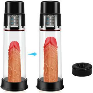 Automatic Transparent 4 Suction Male Penis Pump
