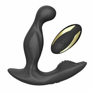 9 Vibration 5 Rotating Flashligh Anal Prostate Massager