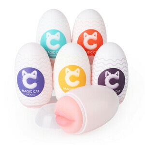 Magic Cat 6 Style Structure Soft Egg Stroker