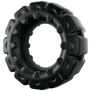 Extra Thick Tire-shaped Silicone Cock Ring