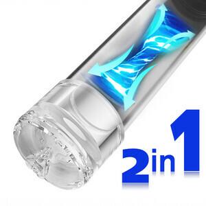 2 In 1 Vacuum Pump For Penis Stimulation And Enhancement Training