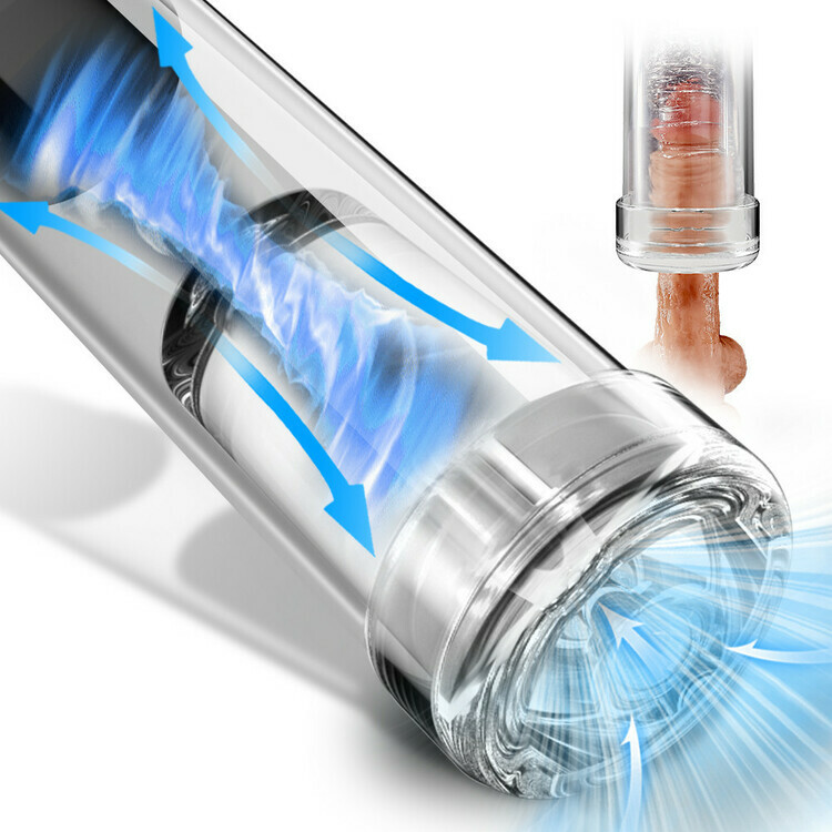 Electric 6 Suction Vacuum Penis Pump